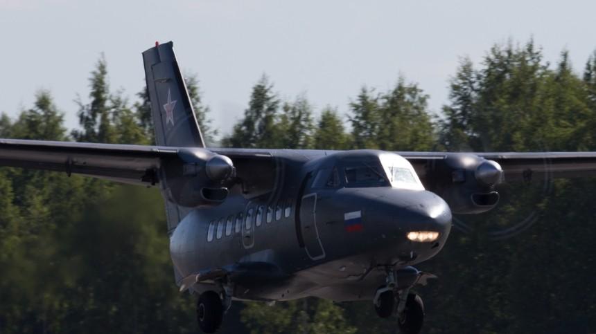 Первое фото сместа крушения самолета под Кемерово