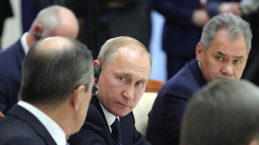 Путин предложил Шойгу иЛаврову возглавить список «Единой России» навыборах