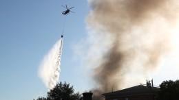 Очевидец снял первый взрыв наскладе пиротехники вМоскве сблизкого расстояния