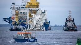 ВСША готовят новые санкции против связанных с«Северным потоком-2» компаний