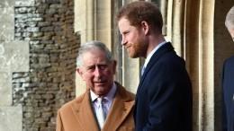 Принц Чарльз намерен лишить сына принца Гарри иМеган Маркл высшего титула