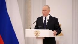 Путин рассказал, каким видит состав будущей восьмой Думы после выборов