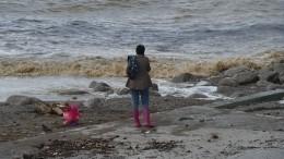 Роспотребнадзор запретил купаться напострадавших отнаводнения пляжах Крыма