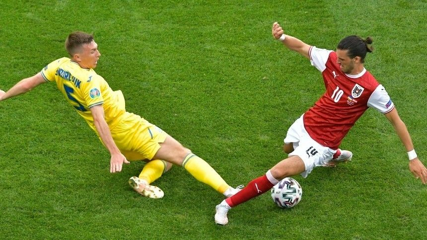 Сборная Австрии обыграла украинцев ивышла вплей-офф Евро-2020