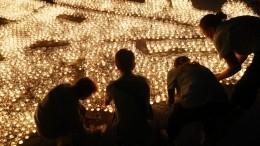 Десятки городов истран присоединились какции «Свеча памяти»— видео