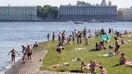 Петербург иМосква продолжают ставить температурные рекорды лета