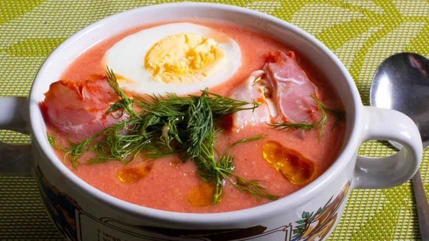 Как приготовить холодный суп сальморехо— пошаговый рецепт сфото