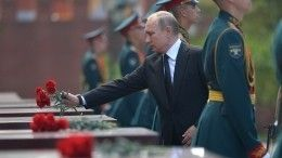 Путин оподвиге советских воинов: «Мысохраним эту память, эту правду овойне»