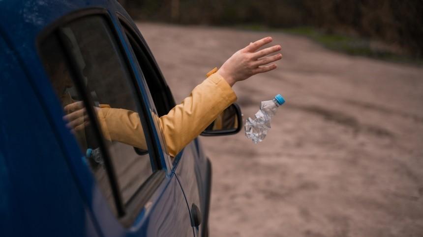 Десять тысяч заокурок: что нельзя будет выбросить изокна автомобиля
