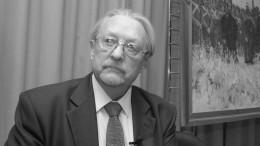 Умер ветеран МИА «Россия сегодня» Александр Плевако
