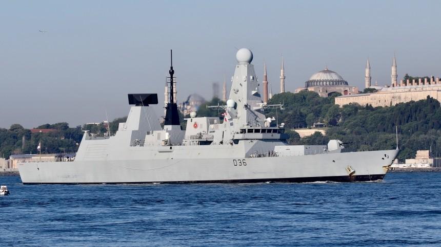 Военный атташе Британии вызван вМОРФпосле инцидента сэсминцем вЧерном море