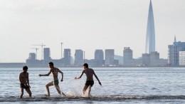 Синоптики рассказали, когда вСанкт-Петербурге спадет аномальная жара