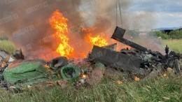 Три человека погибли при крушении Ми-8 под Петербургом