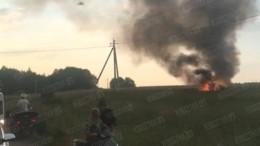 Названа вероятная причина крушения вертолета Ми-8 Росгвардии под Петербургом