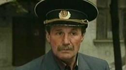 Актер изсериала «Улицы разбитых фонарей» умер вПетербурге