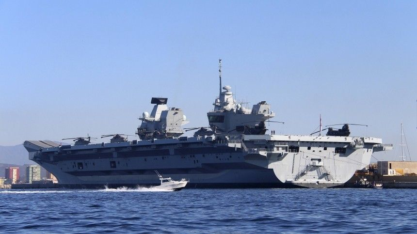 ВБритании заявили оготовности королевского флота нанести тяжелый удар поврагу