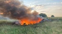 Росгвардия просит посмертно наградить экипаж разбившегося вЛенобласти вертолета