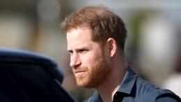 Принц Гарри водиночестве прилетел вЛондон наоткрытие памятника матери