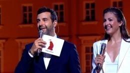 """«Лучшие """"Алые паруса"""" насвете!»— Ургант иАлександрова подвели итоги праздника"""