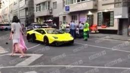 Чей Lamborghini? ВМоскве эвакуировали принадлежавшее Кокорину люксовое авто