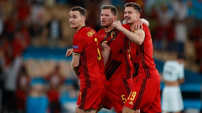 Португалия вылетела сЕвро-2020 после встречи сБельгией