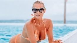 «Волшебная регата!»— Волочкова измерила ширину яхты своим шпагатом