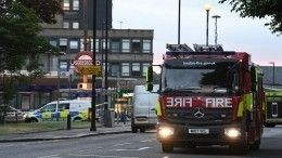 Взрыв вЛондоне: двое человек пострадали, пожар локализован