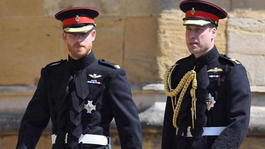 Чрезвычайная ситуация: вБритании неверят впримирение принца Гарри сбратом