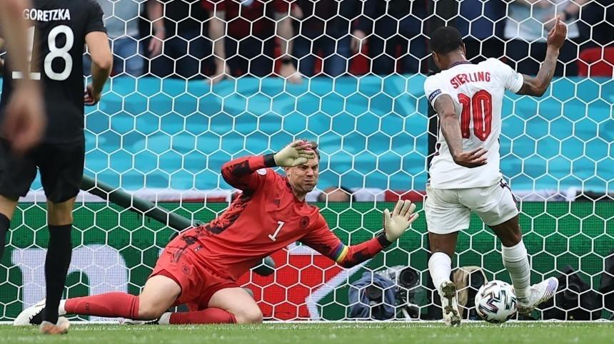 Сборная Англии обыграла Германию ивышла вчетвертьфинал Евро-2020