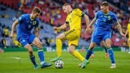 Сборная Украины впервые вистории вышла вчетвертьфинал чемпионата Европы