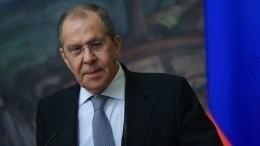 Лавров колко пошутил вТурции вответ напросьбу незагораживать российский флаг