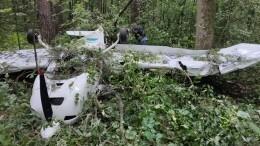 Самолет потерпел крушение под Москвой