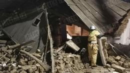 Три человека едва непогибли при взрыве вжилом доме вМахачкале
