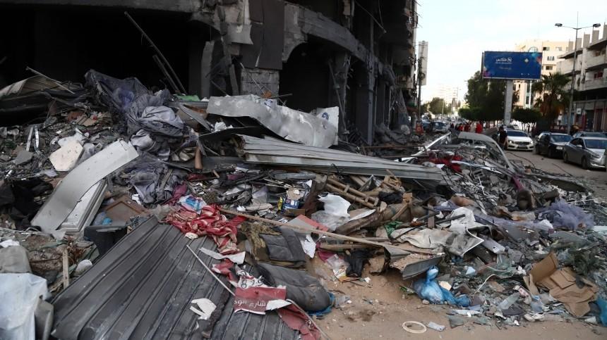 Израильская армия вновь нанесла удары пообъектам ХАМАС всекторе Газа