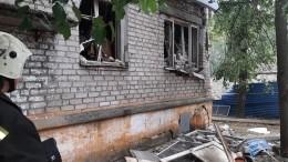 Фото сместа взрыва газа вжилом доме вНижнем Новгороде
