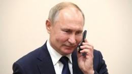 Достигли согласия: очем Путин иМакрон говорили потелефону?