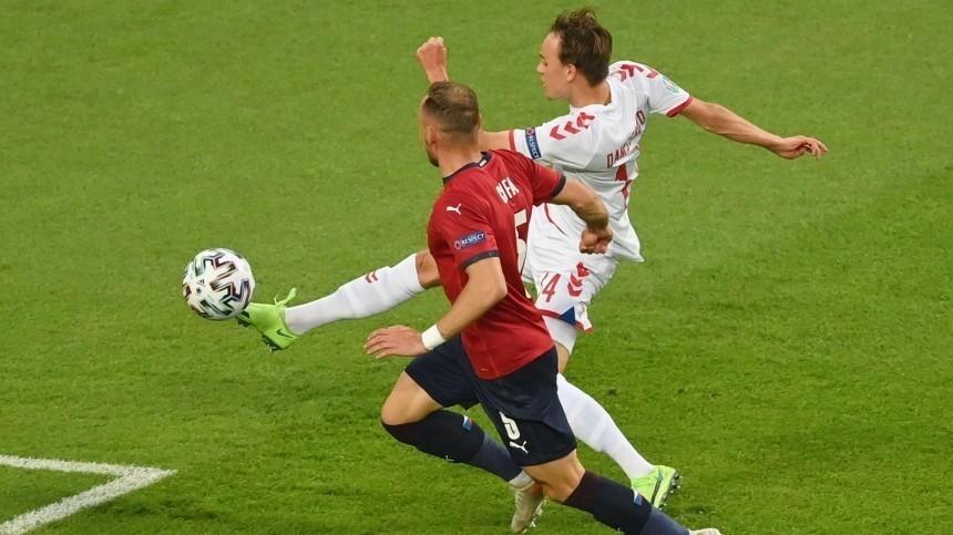 Дания обыграла Чехию ивышла вполуфинал Евро-2020