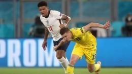 Сборная Англии всухую разгромила команду Украины наЕвро-2020