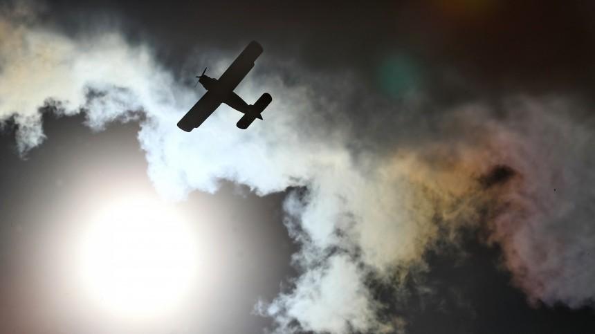 Самолет Ан-2 потерпел крушение вКазахстане