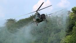 Вертолет потерпел крушение вКабардино-Балкарии