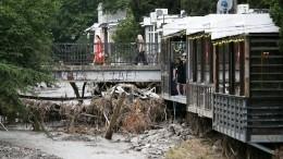 ВКрыму эвакуируют людей из-за сильных подтоплений, один человек погиб