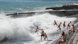 Второй засутки российский турист утонул вАбхазии вовремя шторма