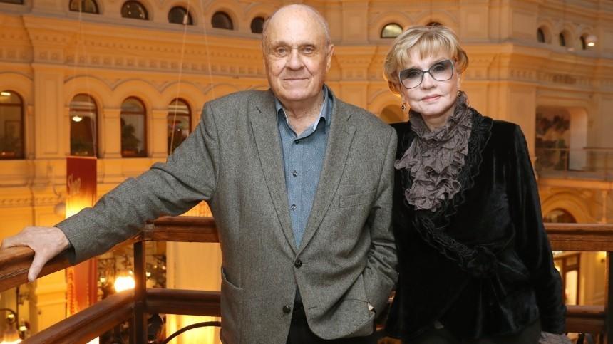 Вера Алентова рискует пропустить похороны мужа Владимира Меньшова