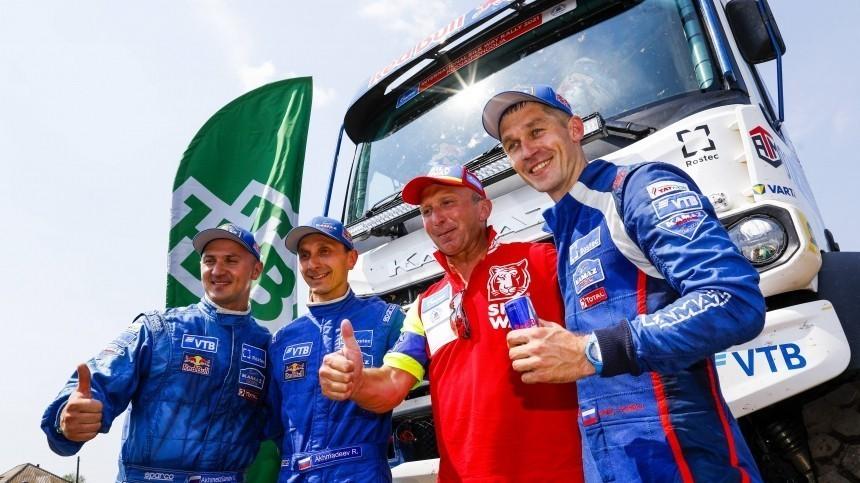 Экипаж «КАМАЗ-мастера» выиграл ралли «Шелковый путь» вкатегории грузовиков