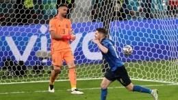 Сборная Италии победила попенальти Испанию ивышла вфинал Евро-2020