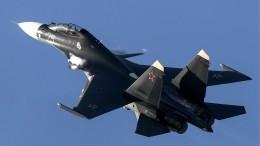 Истребители Су-30 отпугнули отграницы американский Boeing p-8 Poseidon— видео