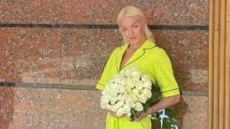 «Смотрите неупадите»: Фанаты подняли насмех Волочкову из-за ееобуви