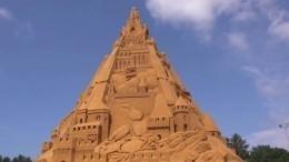 ВДании построили самый высокий вмире замок изпеска