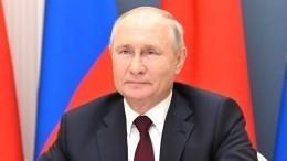 «Нестесняйся этих слез»: Путин успокоил расплакавшегося отволнения школьника