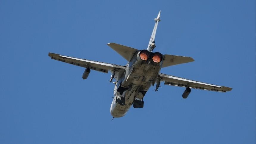 Российские Су-24 ненарушали чужих границ при пролете над Балтикой— Минобороны